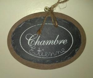 Chambre Etienne, le Chateaux Veretz