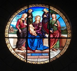 Church Window in LANGEAIS