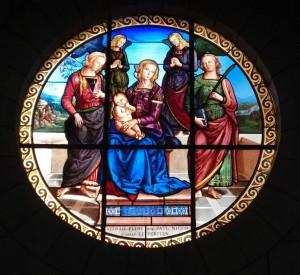 Church Window in LANGEAIS