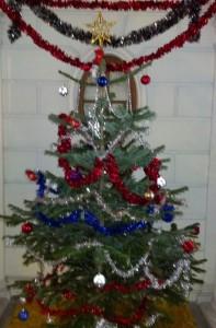 Noel Tree at 8 rue Bremontier, Paris 75017