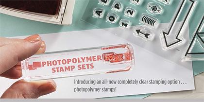polymer stamp set