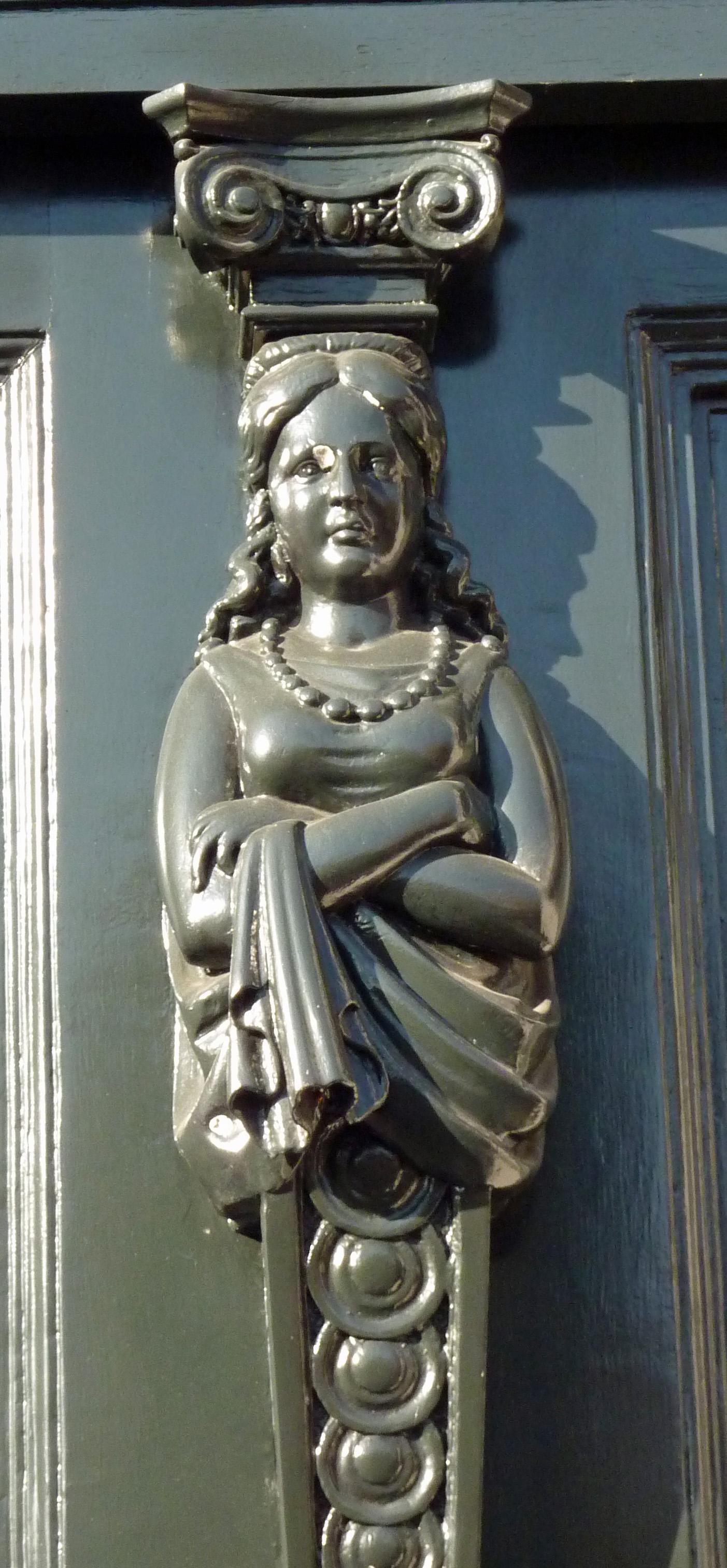 door lady