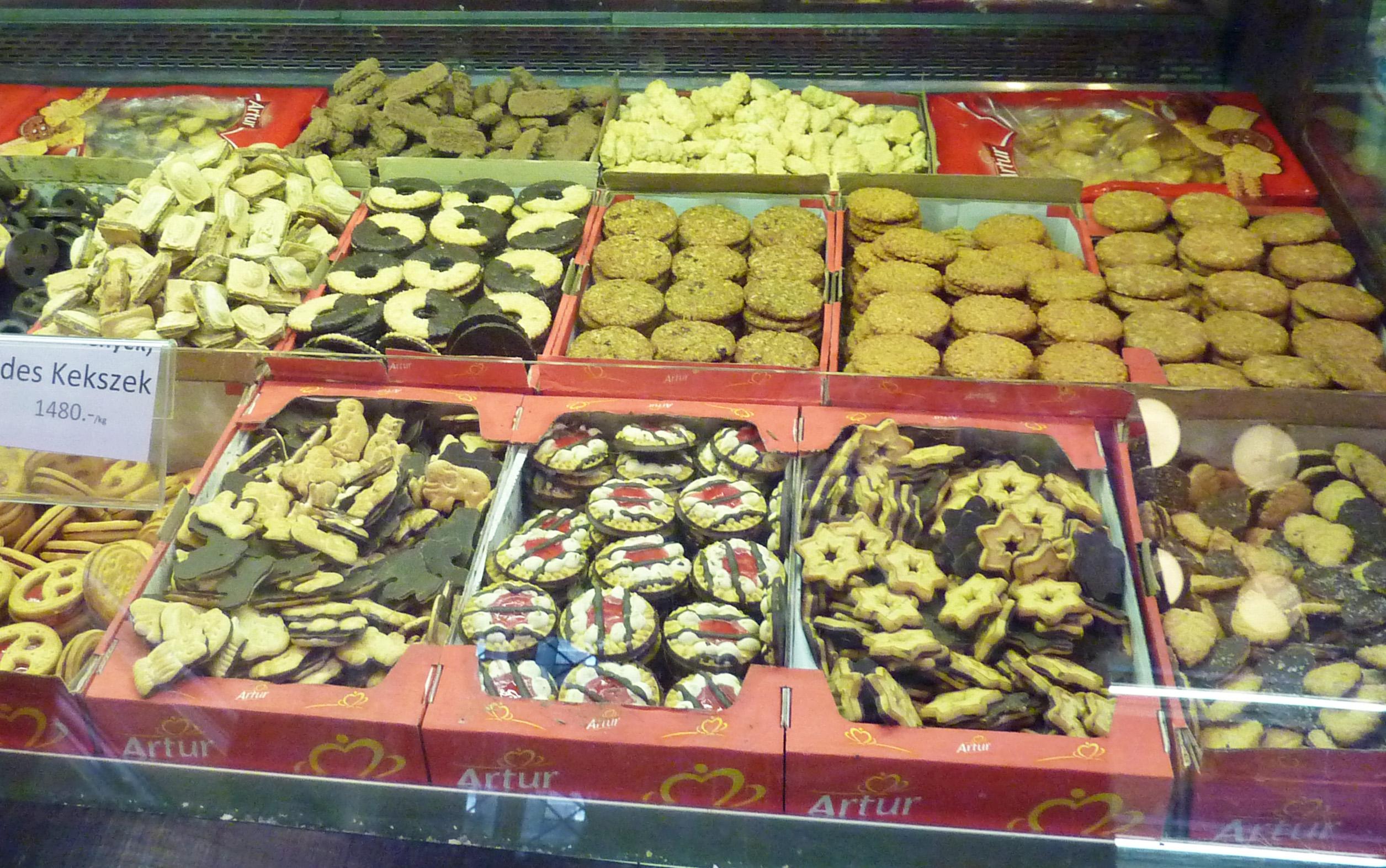 market cookies