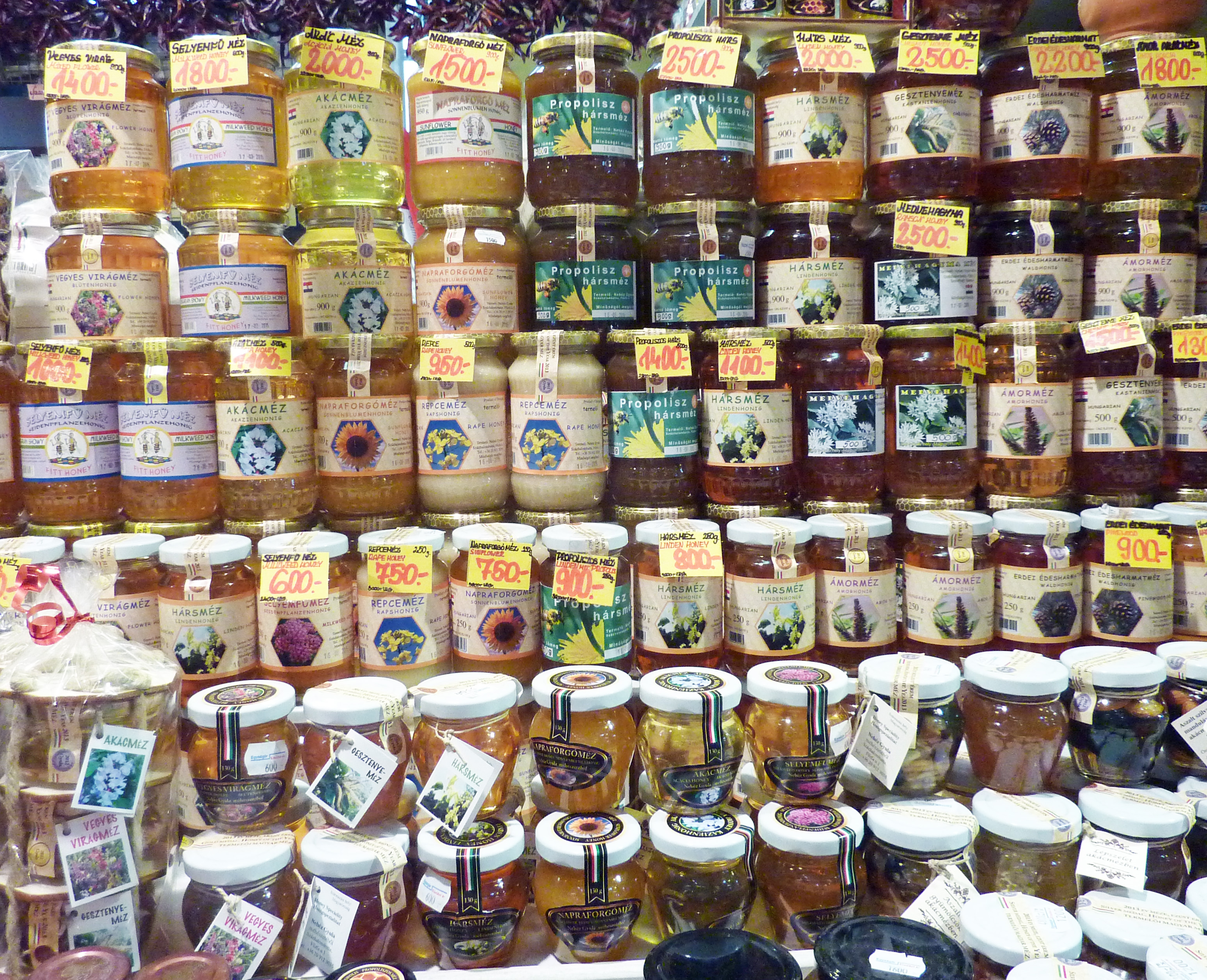 market honey