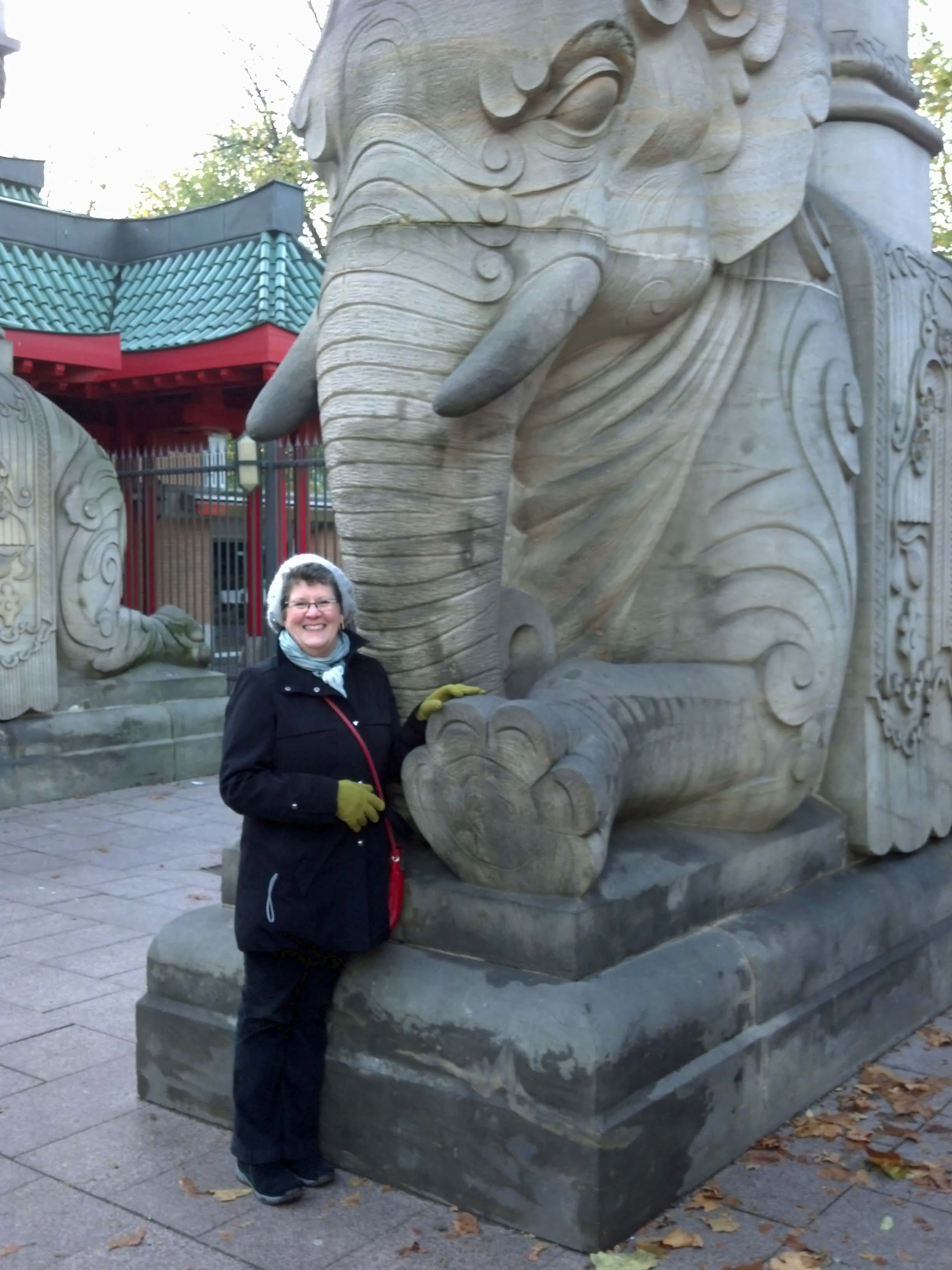 ginny and elephant