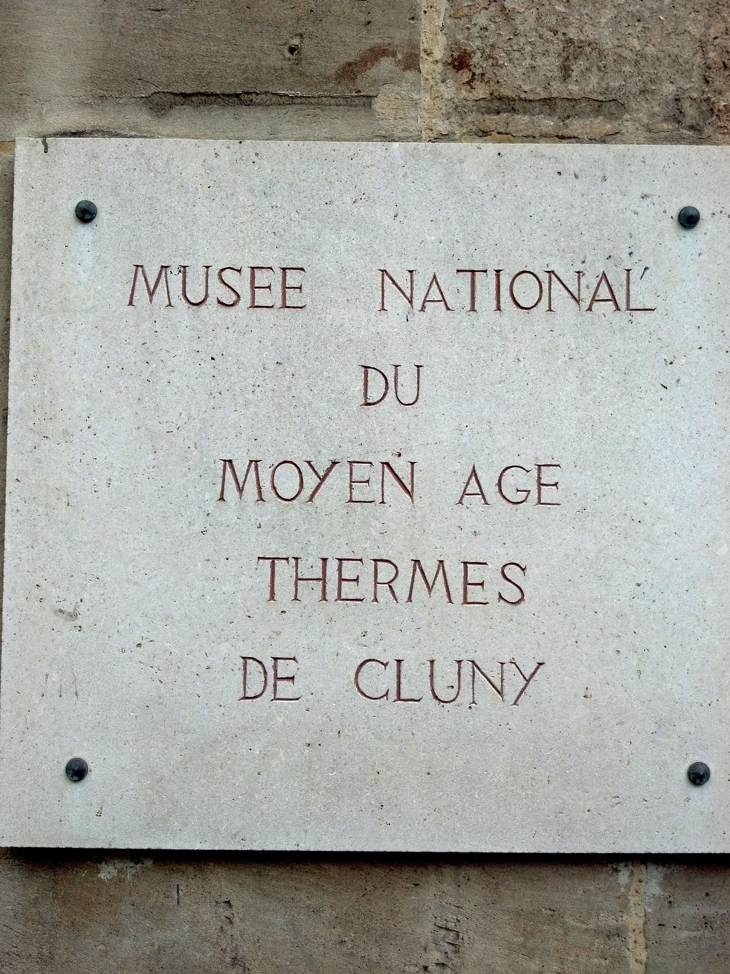 cluny sign