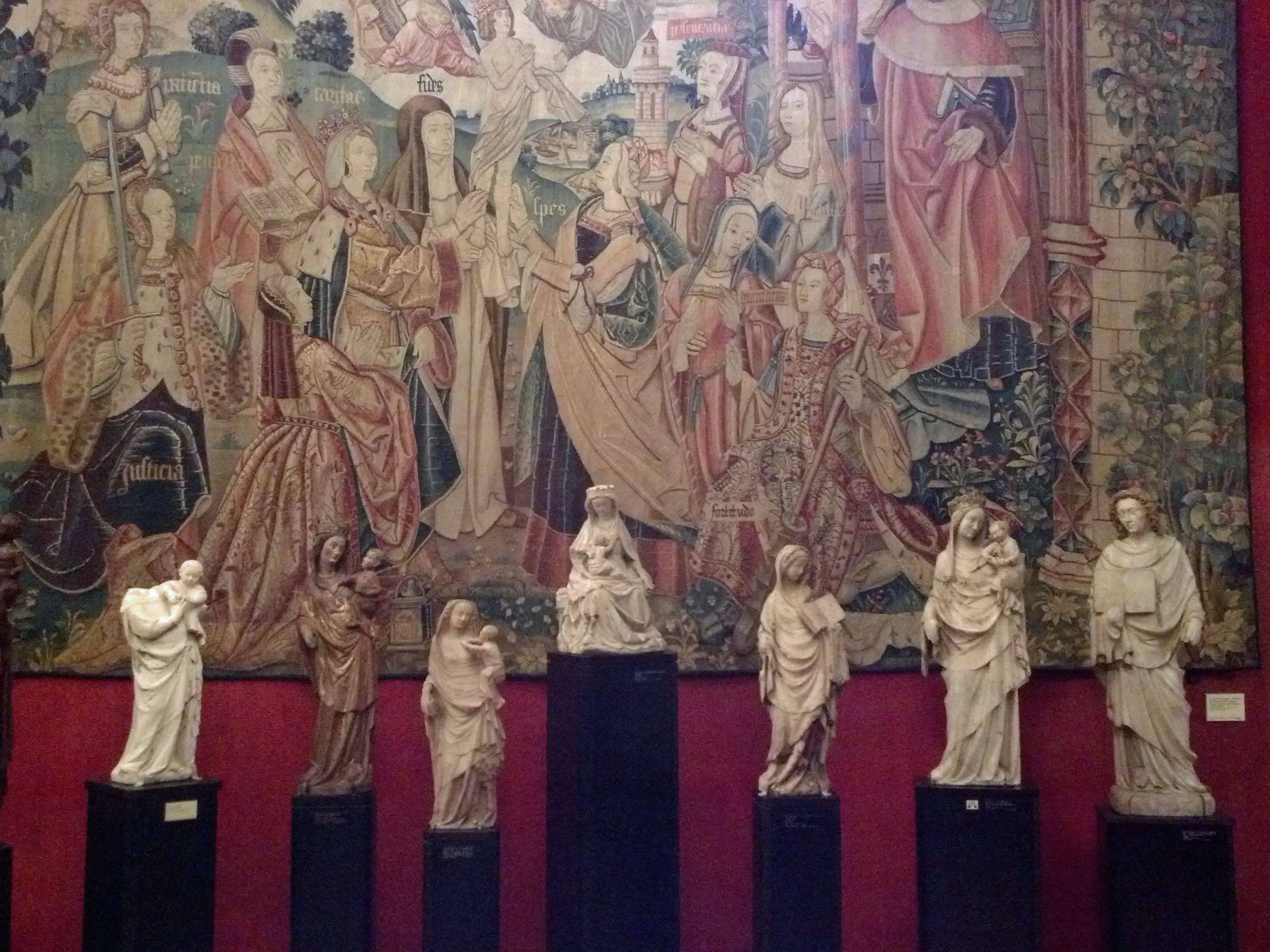 tapestry at cluny