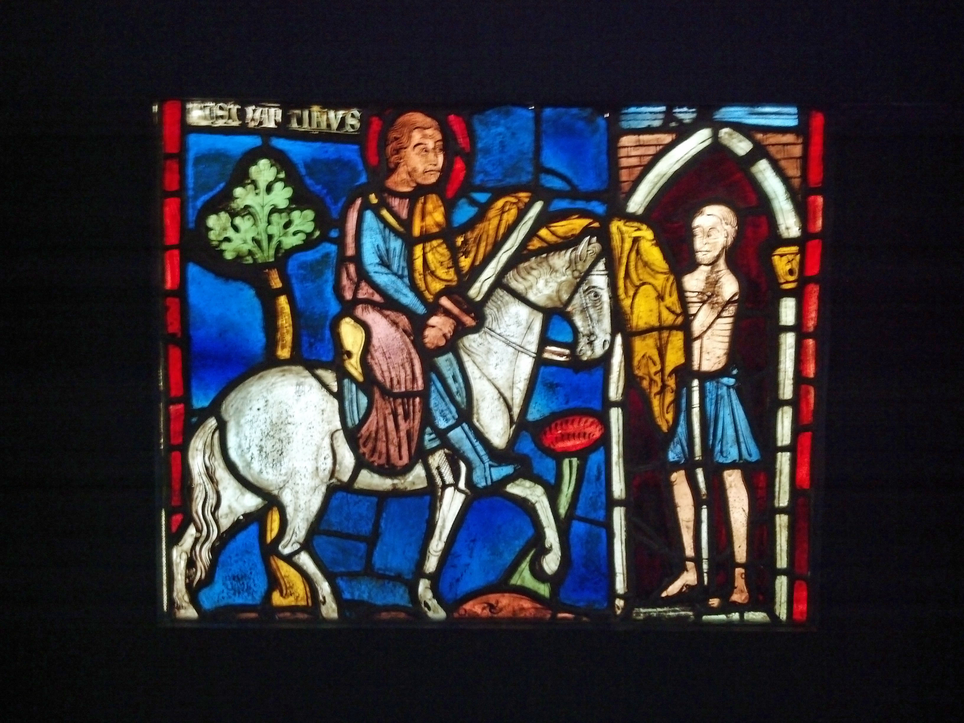 window at cluny