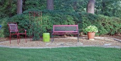 bench area