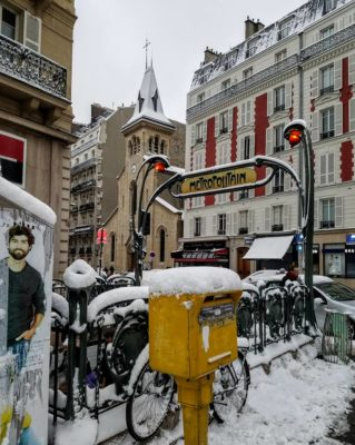 #Parissnow #Celebratethejourney