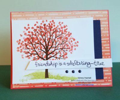 #stampin' up #ginny harrell #sheltering tree