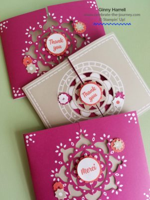 #Sale-a-bration #Stampin' Up #last call for Sale-abration #Ginny Harrell #mixed Medallions