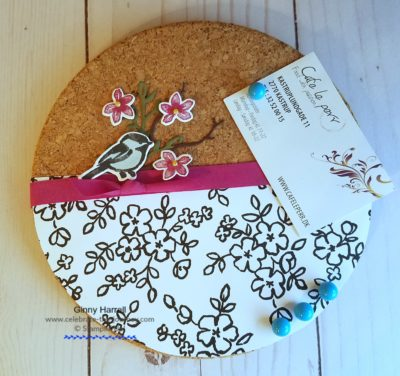 #National Craft Month #Petal Passion #Stampin' Up #Ginny Harrell