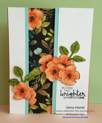 Created by Ginny Harrell #flowers #Stampin' Up Annual Catalog