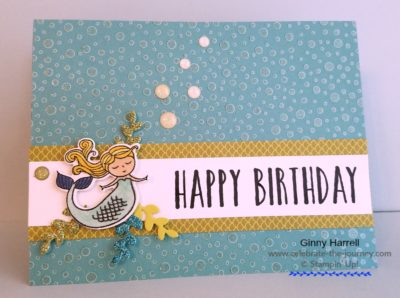 Freshly Made Sketches #Magical Day #Stampin' Up Occasions Catalog #Mermaid
