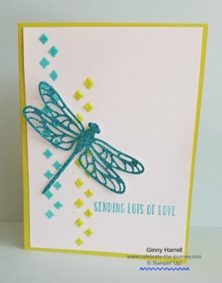 Freashly Made Sketches $331 - Created-by-Ginny-Harrell-using-Dragonfly Dreams-by-Stampin'-Up!-Ginny-Harrell-@-Celebrate-the-journey.com #stampn' up! #2018 Occasions Catalog
