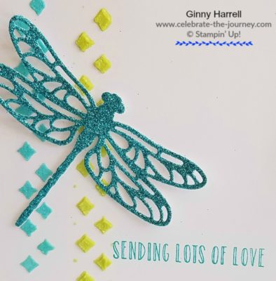 Freshly Made Sketches Dragonfly Created-by-Ginny-Harrell-using-Dragonfly Dreams-by-Stampin'-Up!-Ginny-Harrell-@-Celebrate-the-journey.com #stampn' up! #2018 Occasions Catalog