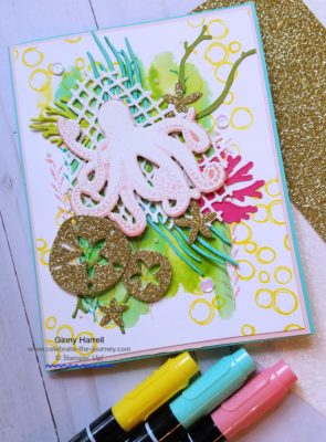 SUBA Blog Hop Sea of Textures Ginny Harrell Stampin' Up Pre-order