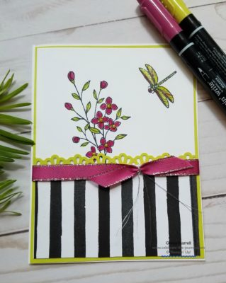 Timeless Textures card created by Ginny Harrell