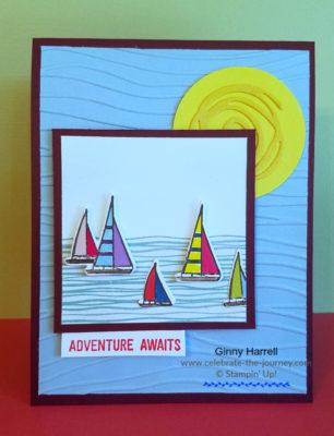 Lilypad Lake freshly made sketches 347 ginny harrell stampin up
