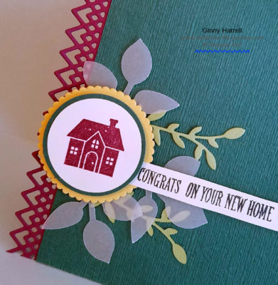 first home ginny harrell celebrate the journey stampin up