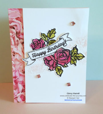 petal palette stampin up ginny harrell