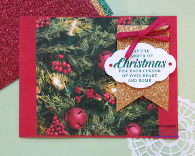 All is Bright DSP Ginny Harrell Stampin' Up