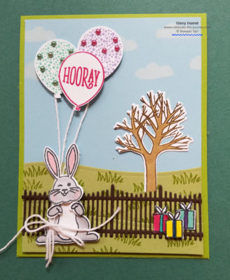 Best Bunny Stampin' Up Ginny Harrell