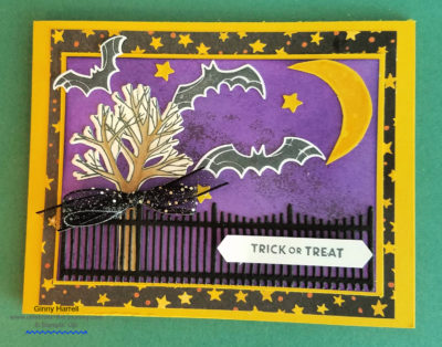 farmhouse christmas spooky sweets stampin' up ginny harrell