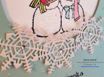 Spirited Snowmen Stampin' Up Ginny Harrell