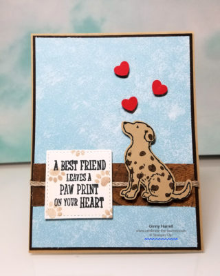 happy tails stampin' up!
