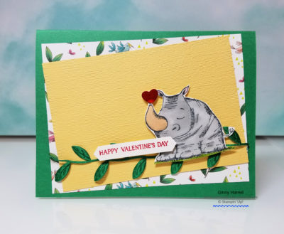 animal outing stampin' up