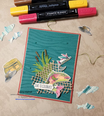 catch of the day stampin' up! FMS377