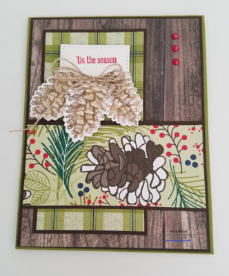 Painted Seasons Stampin' Up! Ginny Harrell