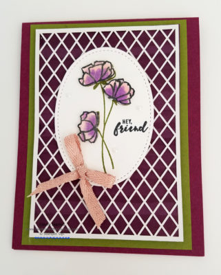 Love What You Do Stampin' Up! Ginny Harrell