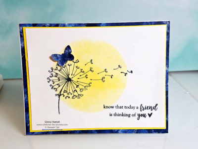 Dandelion Wishes Stampin' Up! Ginny Harrell