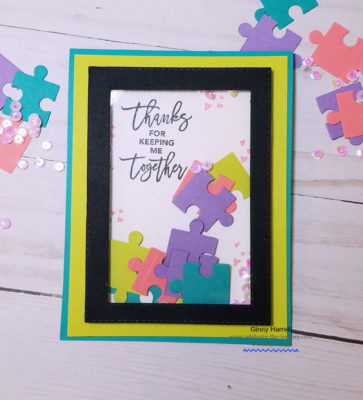 love you to pieces stampin up ginny harrell