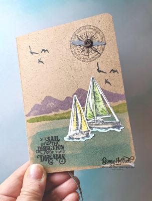 Sailing Home Stampin' Up! Ginny Harrell