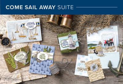 Sail Away Bundle Stampin' Up!