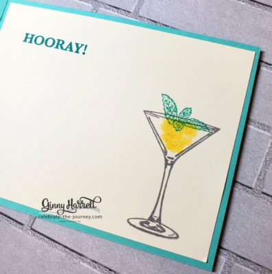 Sip, Sip Hooray Stampin' Up! Ginny Harrell