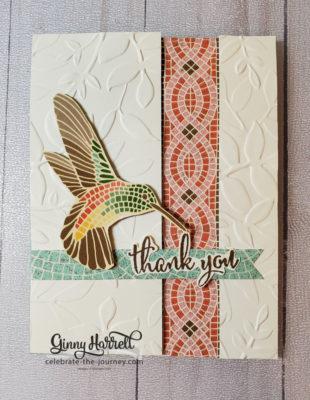 mosaic mood ginny harrell stampin' up