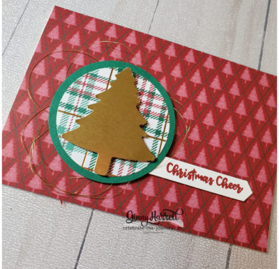 perfectly plaid stampin' up ginny harrell