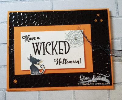 Wonderfully Wicked Ginny Harrell Stampin' Up