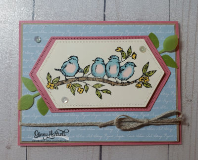 free as a bird ginny harrell stampin' up