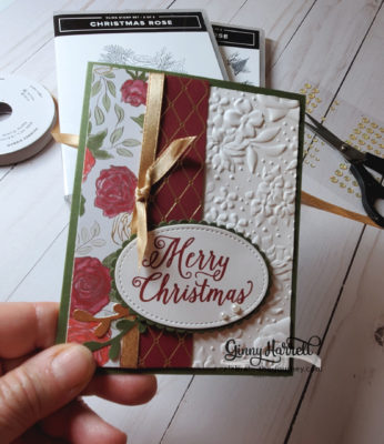 christmastime is here stampin' up ginny harrell