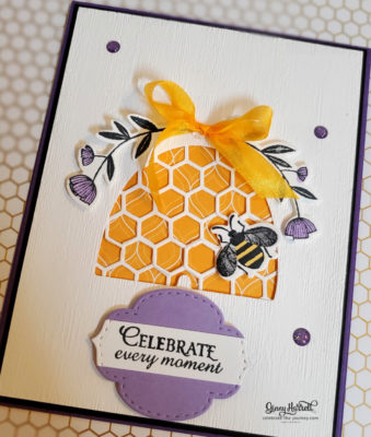 honey beee stampin' up ginny harrell