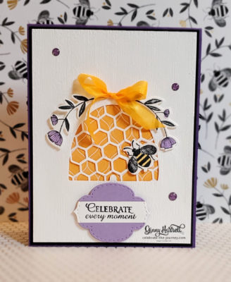 honey bee stampin' up ginny harrell