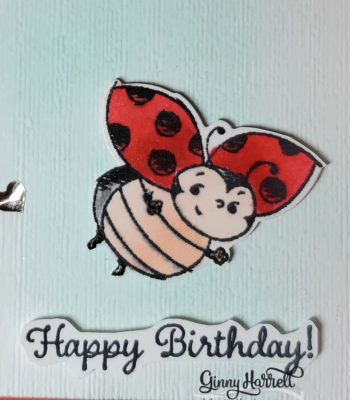 little ladybug ginny harrell stampin' up