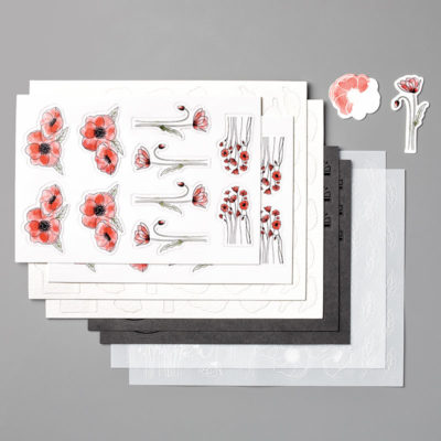 Peaceful Poppies Elements
