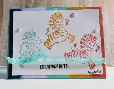 zany zebras ginny harrell stampin' up